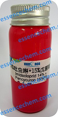 Imidacloprid-140-Pencycuron-150-FS-pesticide-mixture